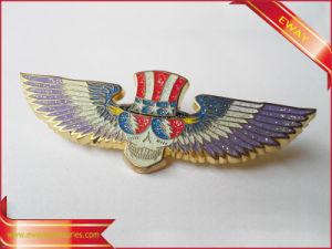 Custom Promotional Metal Pin Badge Enamel Police Metal Badge pictures & photos