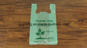 Customized Printed Biodegradable Polythene Bags for Shopping pictures & photos
