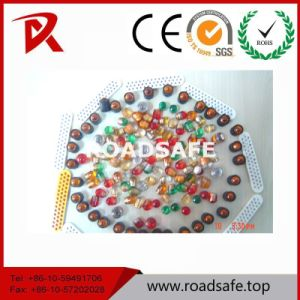 Glass Beads Road Stud Cat Eye Road Marker Reflector pictures & photos
