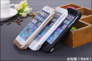 Higher Capacity External Battery Case Power Bank with 10000mAh for iPhone 6 Plus pictures & photos