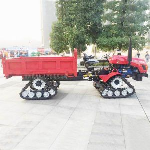 Four Wheel Drive Farm Carwler Type Tractor