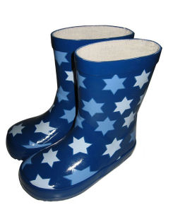Children′s Lovely Rain Boots pictures & photos
