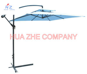Hz-Um88 10X10ft Banana Umbrella Hanging Umbrella Garden Umbrella Parasol Outdoor Umbrella pictures & photos
