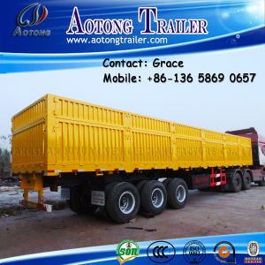 Bulk Cargo Trailer, Side Board Semitrailer, Side Boards Flatbed Semi Trailer, Flatbed with Side Wall, Open Side Board Cargo Semi Trailer, Side Wall Semi Trailer pictures & photos