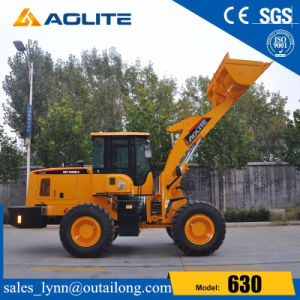 3 Ton China Wheel Loader Backhoe 630 Log Front Loader pictures & photos
