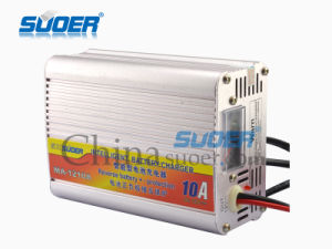 Suoer 10A 12V Power Supply Battery Charger with Ce (MA-1210A) pictures & photos