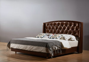 Simple Design Modern Style Hotel Bed (B001) pictures & photos