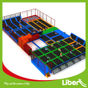 Customized Professional Trampoline Courts for Selling pictures & photos