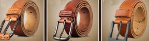 Cow Leather Weist Belt, Men Belt, Women Leather Belts (V674) pictures & photos