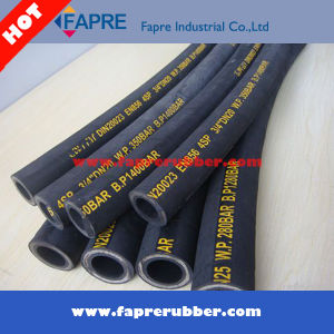 Excellent Quality Single Wire Braid Hydraulic Rubber Hose pictures & photos