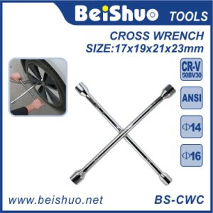 Carbon Steel Cross Rim Wrench with Socket pictures & photos