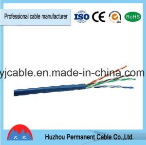 UTP/ FTP Twisted Pair Cable, 4 Pairs, Category 5e Solid Cable pictures & photos