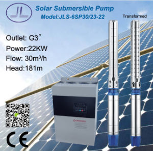 6SP30-23 Submersible Centrifugal Solar DC Pump pictures & photos