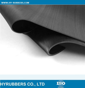 Round Button Rubber Mat Roll pictures & photos