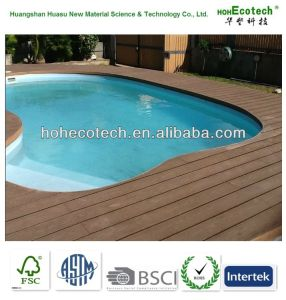 Wood Flooring/WPC Swimming Pool Decking pictures & photos