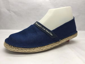 Hot Sale Espadrilles Canvas Shoes (23LG1704) pictures & photos