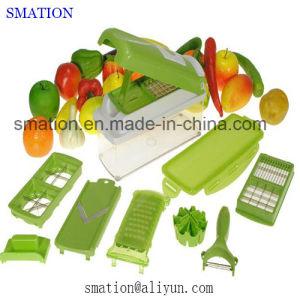Multifunction Kitchen Cucumber Spiral Potato Fruit Julienne Veggie Vegetable Slicer pictures & photos