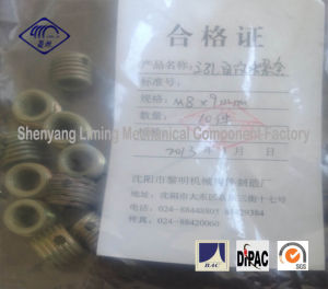 M8X9 Self-Tapping Screw Thread Insert Fasteners with Three Holes
