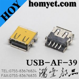 USB a Type Female Connector for Electric Accessories (USB-AF-39) pictures & photos