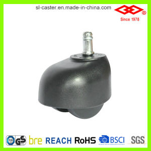 50mm Swivel Socket PVC Wheel Sofa Caster (C558-35B050X55D) pictures & photos