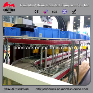 Steel Roller Carton Flow Display Shelf Rack pictures & photos