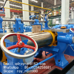 2016 Hot Sale Open Type Rubber Compound Mixing Mill with Stockblender pictures & photos
