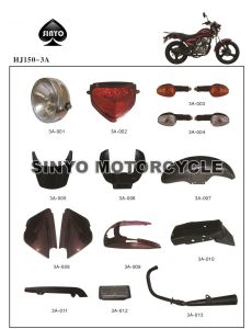 Hot Sell Haojue Motorcycle Parts pictures & photos
