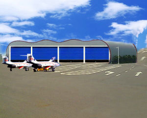 Aircraft Automatic Hanger Door / Steel Structure Huge Folding Door pictures & photos