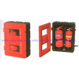 Fire Extinguisher Plastic Cabinet for 6kg Powder Extintor pictures & photos