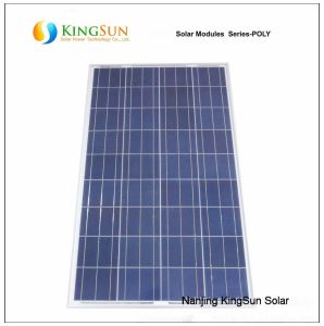80W Photovoltaic Module/Poly-Crystalline Solar Panel/Solar Panel pictures & photos