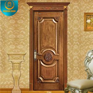 New Design Wooden Bedroom Door for Apartment (DS-8002) pictures & photos