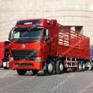 HOWO Lorry Truck 12 Wheeler 50 Ton Cargo Truck A7 pictures & photos