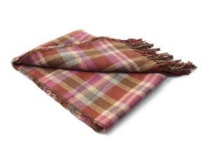 Over-Sized Huge Plaid Fringed Elegant Ladies Evening Shawls and Blanket Wraps for Women pictures & photos