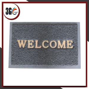 Good Price PVC Welcome Door Mat pictures & photos