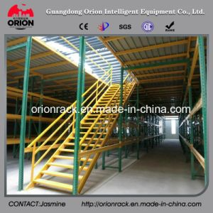 Warehouse Storage Steel Mezzanine Rack Floor System pictures & photos