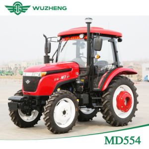 Chinese New Farm 55HP 4WD Tractor with Cabin for Sale pictures & photos