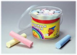 20 PCS Sidewalk Chalk with Transparency PP Bucket pictures & photos