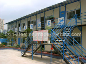 Normal Worker Prefab House with Hear Insulated Panel pictures & photos