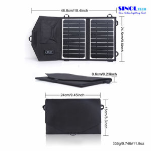 8W 5V Portable Folding Flexible Solar Charger for Cell Phones/ Powerbank/ Tablet with USB Output pictures & photos