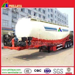3 Axle Flour Lime Powder Bulk Cement Tanker Semi Trailer pictures & photos