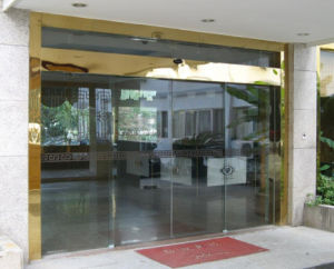 Security Automatic Glass Sliding Glass Door (DS-100) pictures & photos