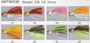 Bass Fishing PRO Top Grade Designed and Painted Spinner Bait 66537 Fishing Lure pictures & photos