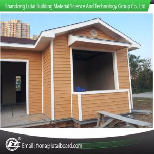 Wood Grain Siding Panel for Villa Prefab Housing pictures & photos