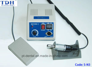 Dental Brushless Powerful E Type Dentist Use Micromotor (S-N3) pictures & photos