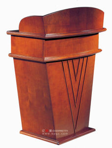 Wood Church Pulpit Chairs Wholesale, American Style Wood Church Pulpit, Wood Pulpits for Churches pictures & photos