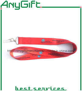 Heat Transfer Printed Woven Lanyard with Customized Logo (LAG-LY-22) pictures & photos