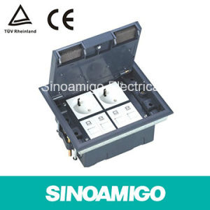 Access Plastic Floor Outlet Box/Recess PVC Floorbox/Access Floor Boxes pictures & photos