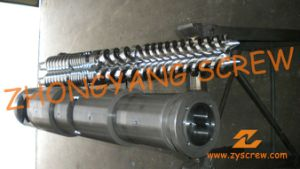 Zyt421 Conical Twin Screw and Barrel for PVC Sheet pictures & photos