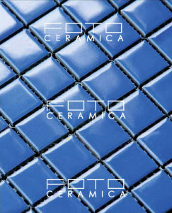 Hot Sale 25X25mm Swimming Pool Ceramic Mosaic Tile