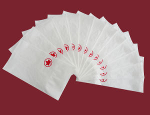 Printed Dinner Napkin-Maple Leaf Hr14as005 pictures & photos